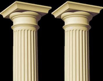 Colonne in Travertino marmo o granito, Balaustre in travertino o marmo  DIVASTONE