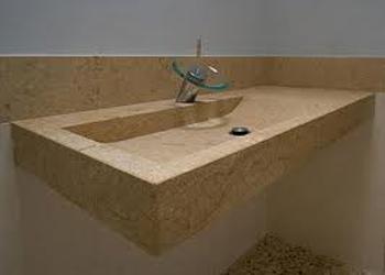Lavelli in marmo piatti doccia in travertino top cucina for Top cucina granito